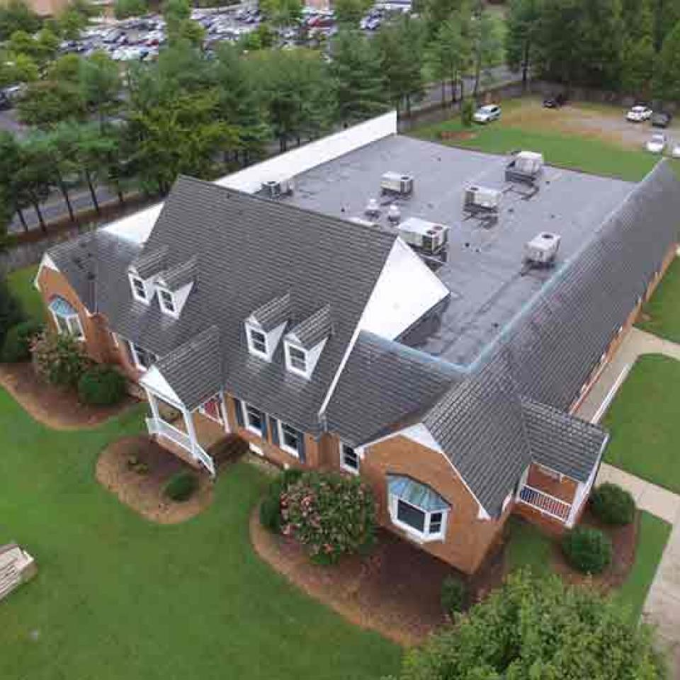 Hanover Family Physicians Roofing Project  right view