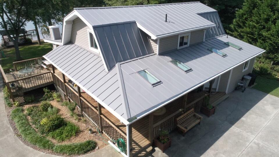 Mr Smith Residential Metal Roof Charlottesville